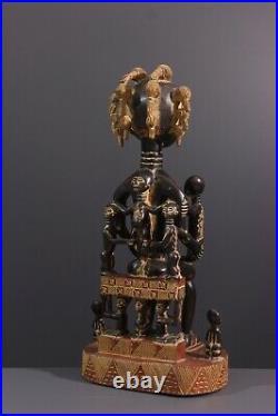 Statue Attie African Art Africain Primitif Arte Africana Afrikanische Kunst