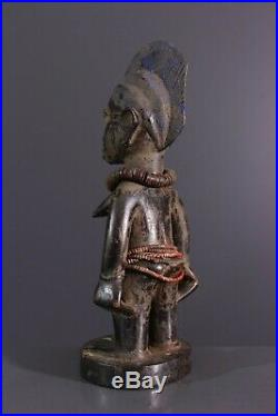 Statue Ibeji Yoruba Nigeria Art Africain Traditionnel Primitif Tribal