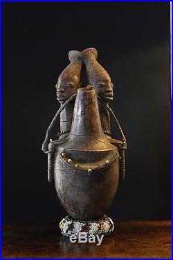 Statue Terre Cuite Mangbetu Art Africain Africane Art