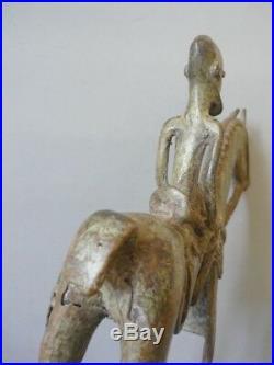 Statue art africain bronze du pays Dogon au Mali