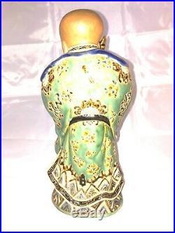 Statue indochine vietnam dieu longévité bienhoa saigon h26cm Shou Xing