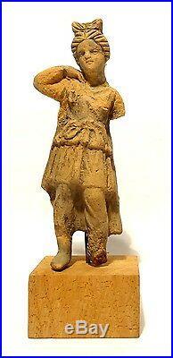 Statuette Romaine 200 Ad Ancient Roman Figurine