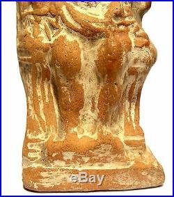 Statuette Romaine Zeus 2°/3° S. 200/300 Ad Ancient Roman Figure God Zeus