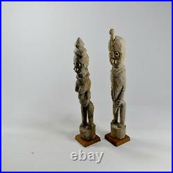 Statuettes funéraires Waaga Konso Éthiopie 1960 african africa ethiopia