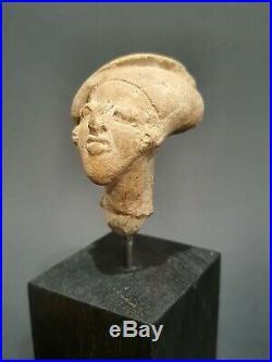 Tête de prêtre Tumaco Équateur 800 à 300 avant Jc art précolombien precolumbian