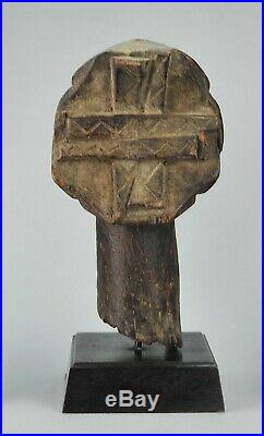 Tête statue ancêtre Singiti HEMBA ancestor figure Congo Tribal Art Africain