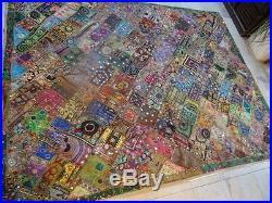 Textile Patchwork Pakistan Kutch Desert Du Thar G02 234/183