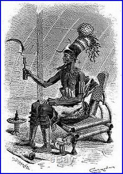 Trumbash Couteau africain ancien MANGBETU Congo old knife Africa Kongo African